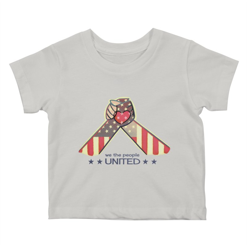 United Kids Baby T-Shirt by satruntwins's Artist Shop