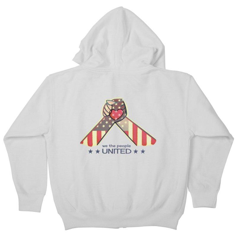 United Kids Zip-Up Hoody by satruntwins's Artist Shop