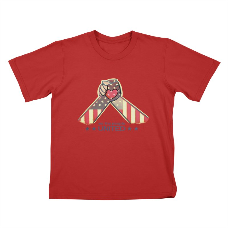 United Kids T-shirt by satruntwins's Artist Shop