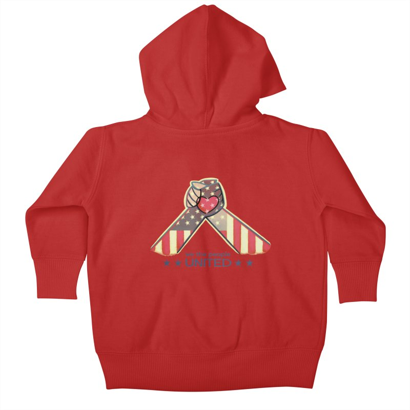 United Kids Baby Zip-Up Hoody by satruntwins's Artist Shop