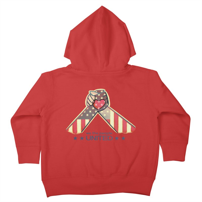 United Kids Toddler Zip-Up Hoody by satruntwins's Artist Shop