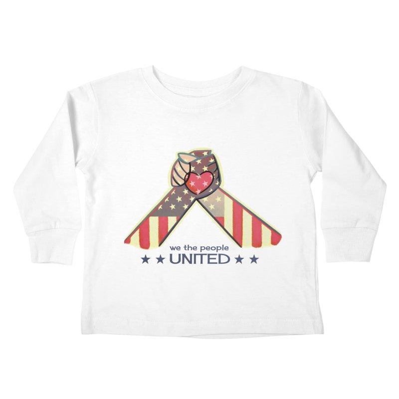 United Kids Toddler Longsleeve T-Shirt by satruntwins's Artist Shop