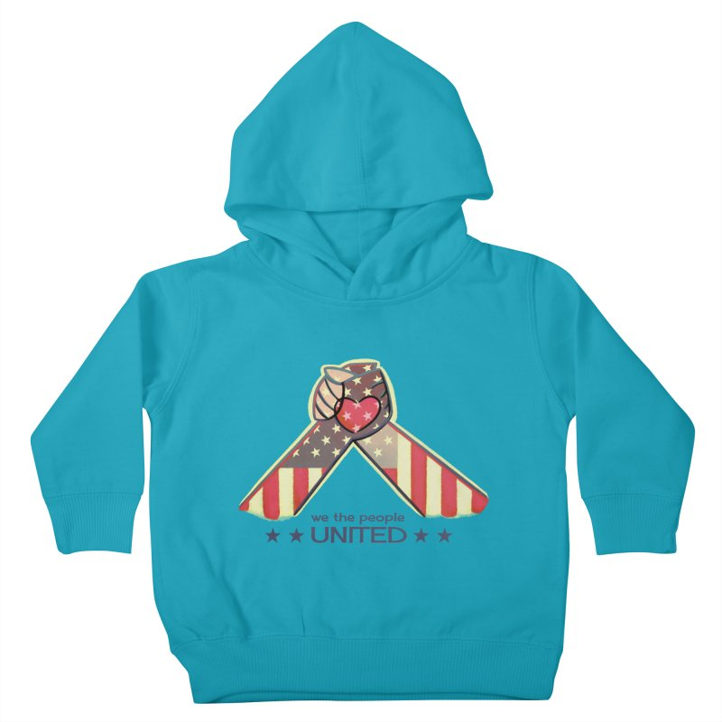 United Kids Toddler Pullover Hoody by satruntwins's Artist Shop