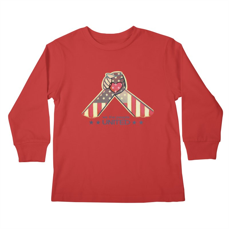 United Kids Longsleeve T-Shirt by satruntwins's Artist Shop