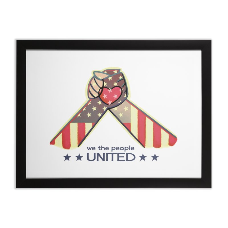 United Home Framed Fine Art Print by satruntwins's Artist Shop