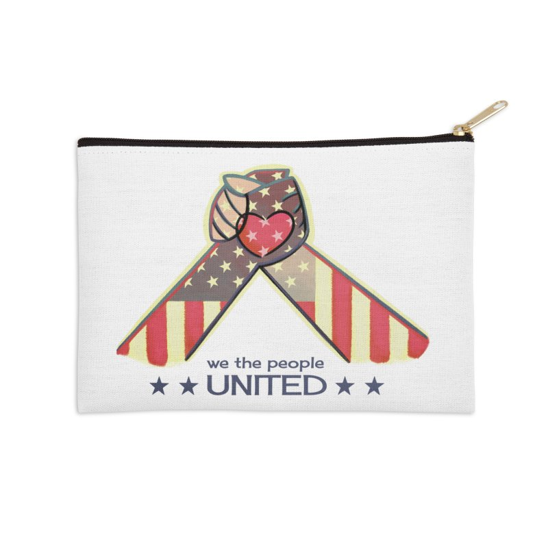 United Accessories Zip Pouch by satruntwins's Artist Shop