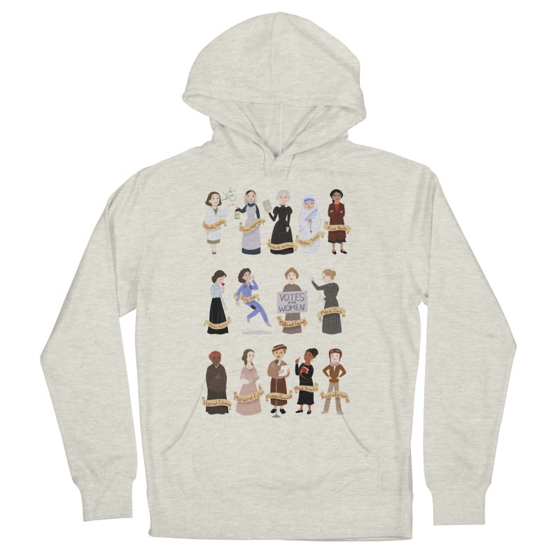 Women in History #1 Women's Pullover Hoody by satruntwins's Artist Shop