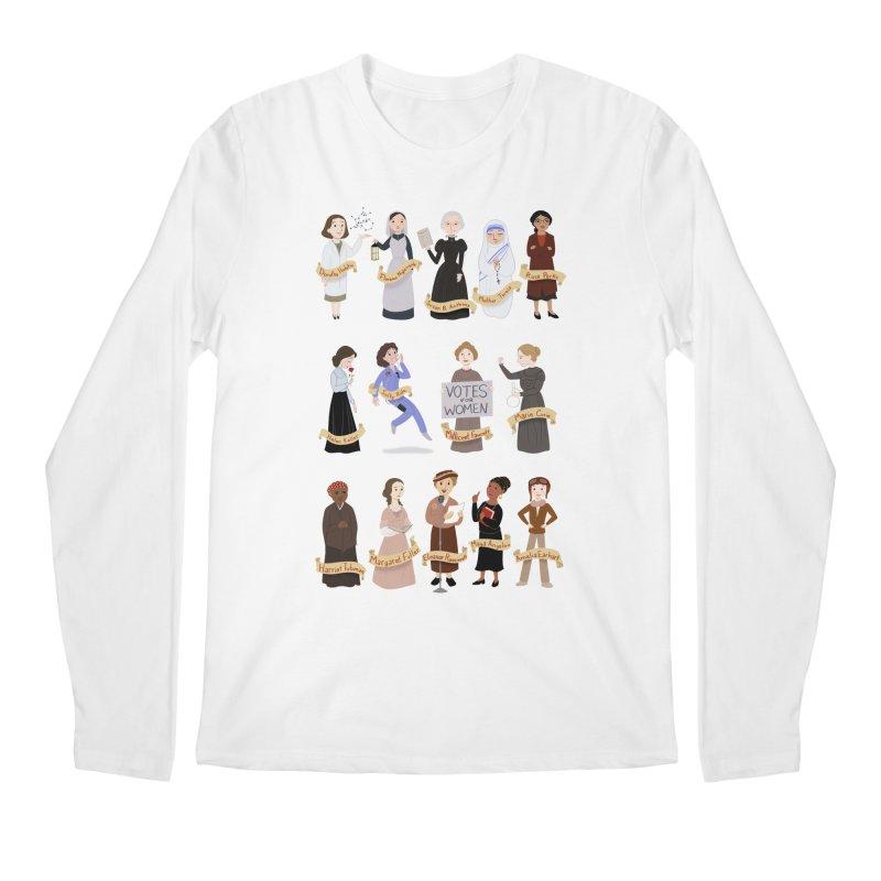 Women in History #1 Men's Longsleeve T-Shirt by satruntwins's Artist Shop