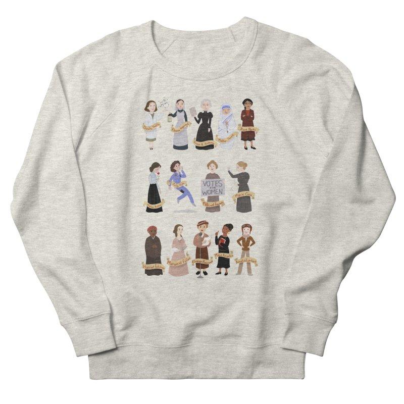 Women in History #1 Women's Sweatshirt by satruntwins's Artist Shop