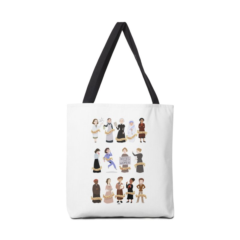 Women in History #1 Accessories Bag by satruntwins's Artist Shop