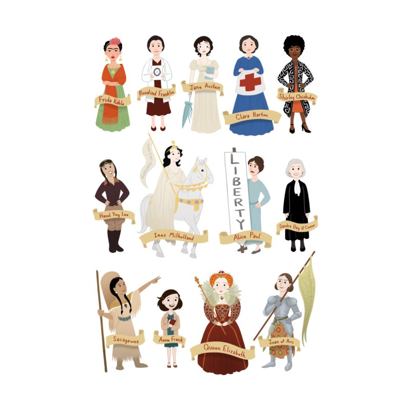 Women in History #2 by satruntwins's Artist Shop