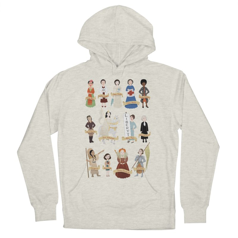 Women in History #2 Women's Pullover Hoody by satruntwins's Artist Shop