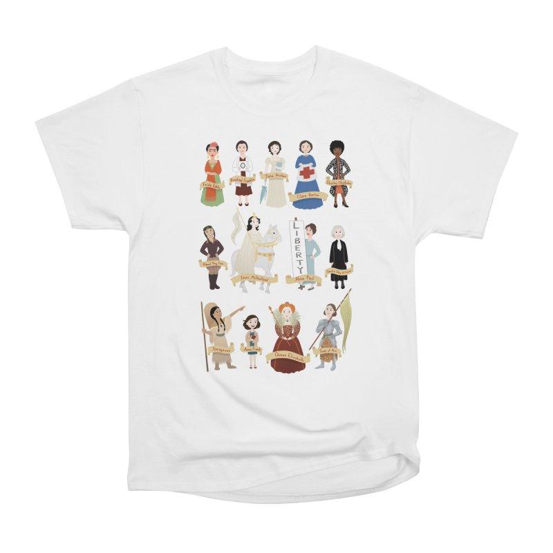Women in History #2 Men's Heavyweight T-Shirt by satruntwins's Artist Shop
