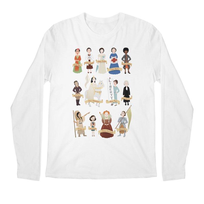 Women in History #2 Men's Longsleeve T-Shirt by satruntwins's Artist Shop