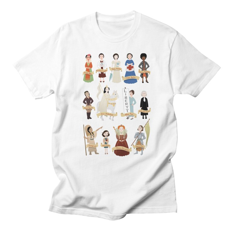 Women in History #2 Women's Unisex T-Shirt by satruntwins's Artist Shop