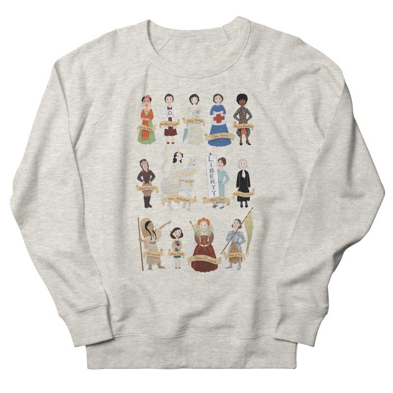 Women in History #2 Women's Sweatshirt by satruntwins's Artist Shop