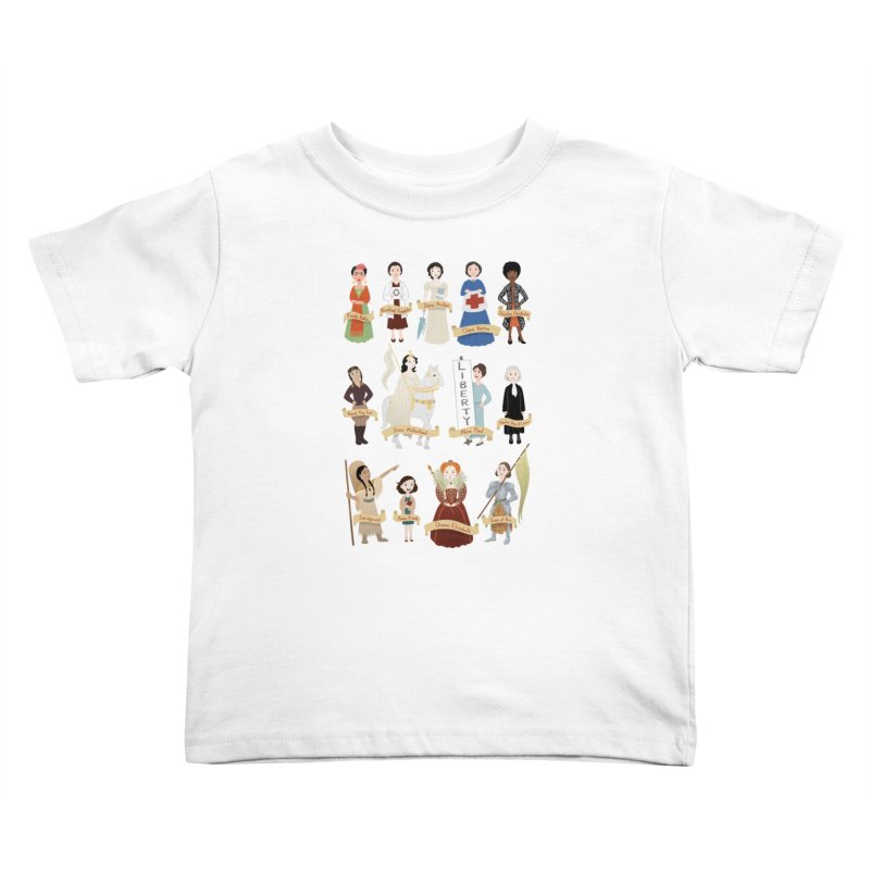 Women in History #2 Kids Toddler T-Shirt by satruntwins's Artist Shop
