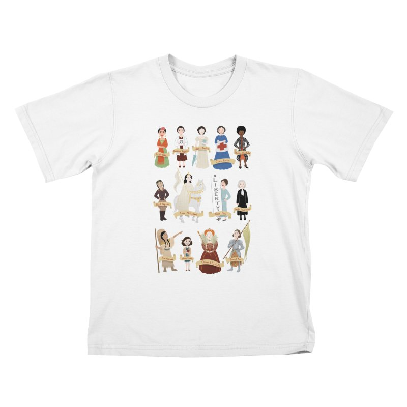 Women in History #2 Kids T-Shirt by satruntwins's Artist Shop
