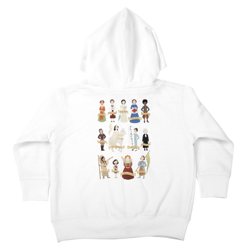Women in History #2 Kids Toddler Zip-Up Hoody by satruntwins's Artist Shop