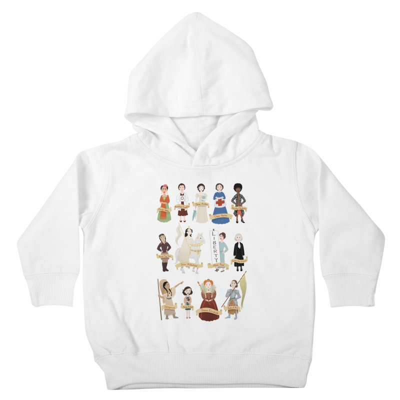 Women in History #2 Kids Toddler Pullover Hoody by satruntwins's Artist Shop