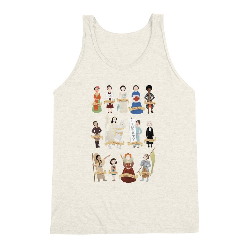 Women in History #2 Men's Tank by satruntwins's Artist Shop