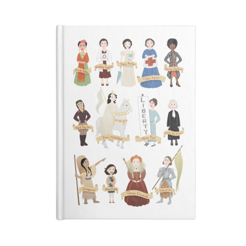 Women in History #2 Accessories Notebook by Saturn Twins