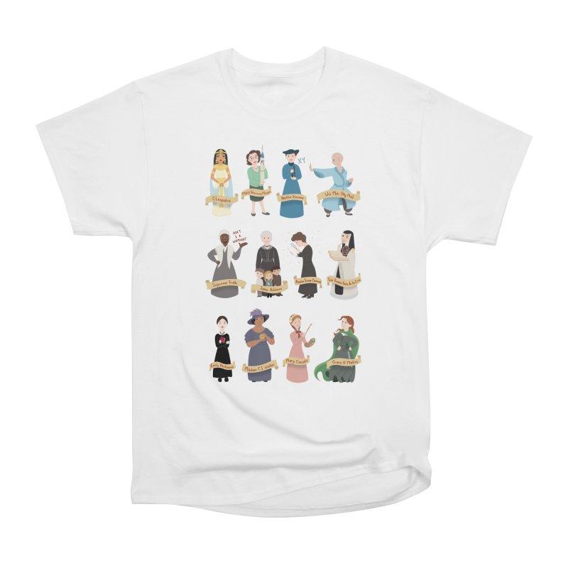 Women in History #3 Men's Heavyweight T-Shirt by satruntwins's Artist Shop