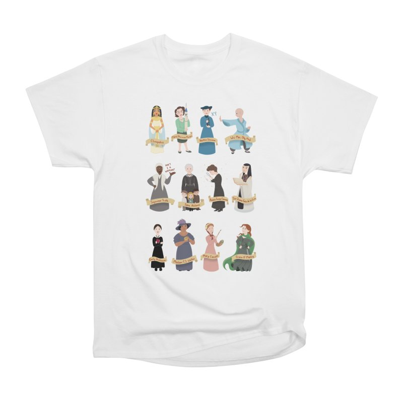 Women in History #3 Women's Classic Unisex T-Shirt by satruntwins's Artist Shop