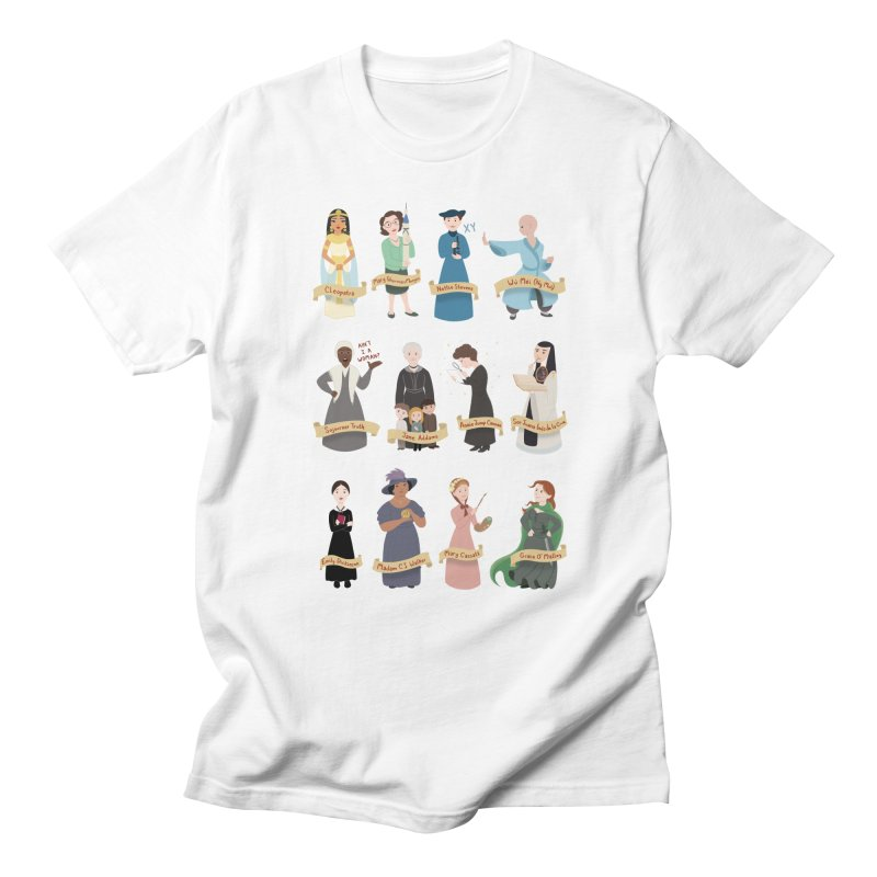 Women in History #3 Women's Unisex T-Shirt by satruntwins's Artist Shop