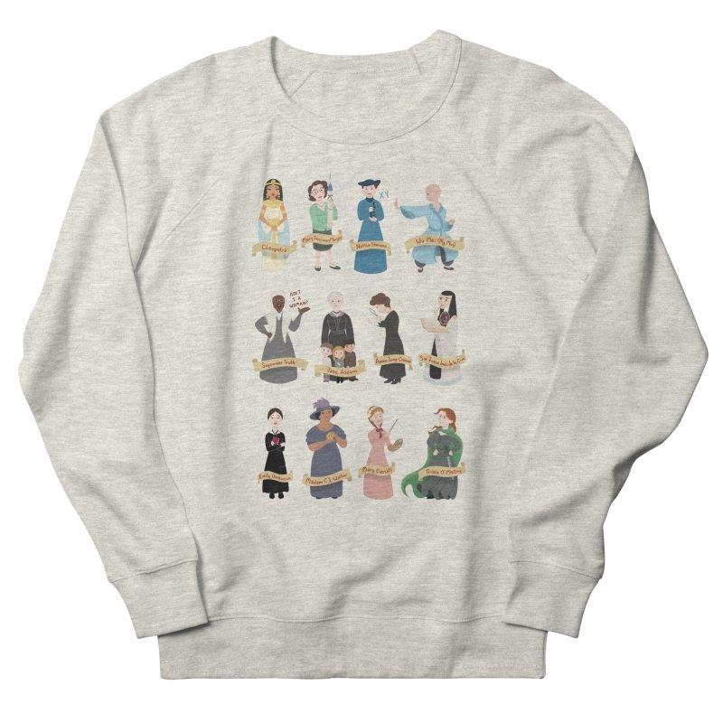Women in History #3 Women's Sweatshirt by satruntwins's Artist Shop