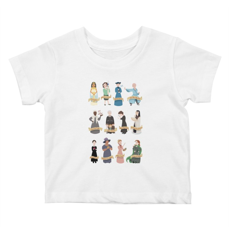 Women in History #3 Kids Baby T-Shirt by satruntwins's Artist Shop