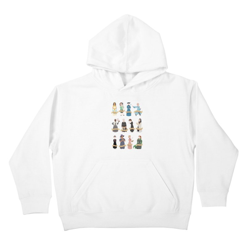 Women in History #3 Kids Pullover Hoody by satruntwins's Artist Shop