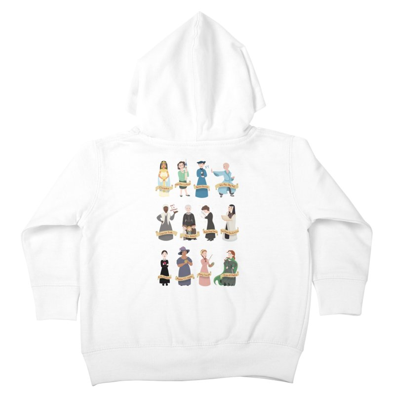 Women in History #3 Kids Toddler Zip-Up Hoody by satruntwins's Artist Shop