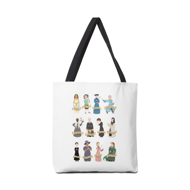 Women in History #3 Accessories Bag by satruntwins's Artist Shop