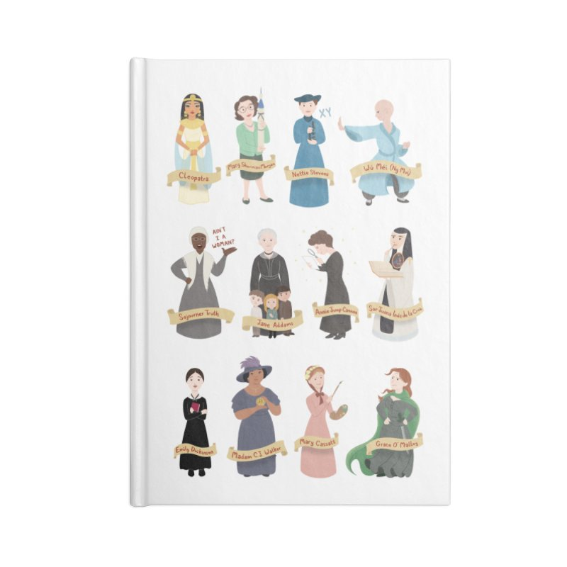 Women in History #3 Accessories Notebook by Saturn Twins