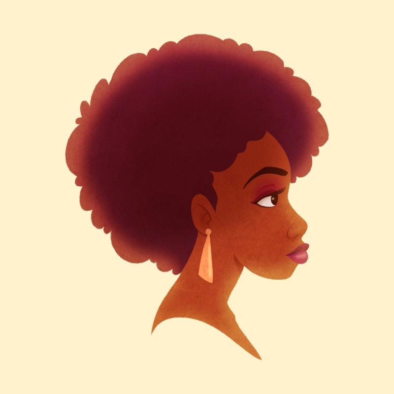 Woman in Profile by satruntwins's Artist Shop