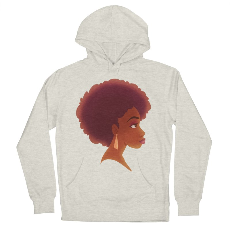 Woman in Profile Women's Pullover Hoody by satruntwins's Artist Shop