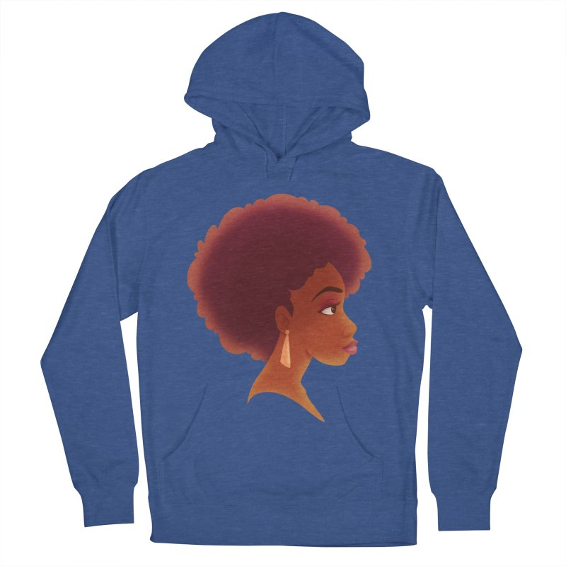 Woman in Profile Men's Pullover Hoody by satruntwins's Artist Shop