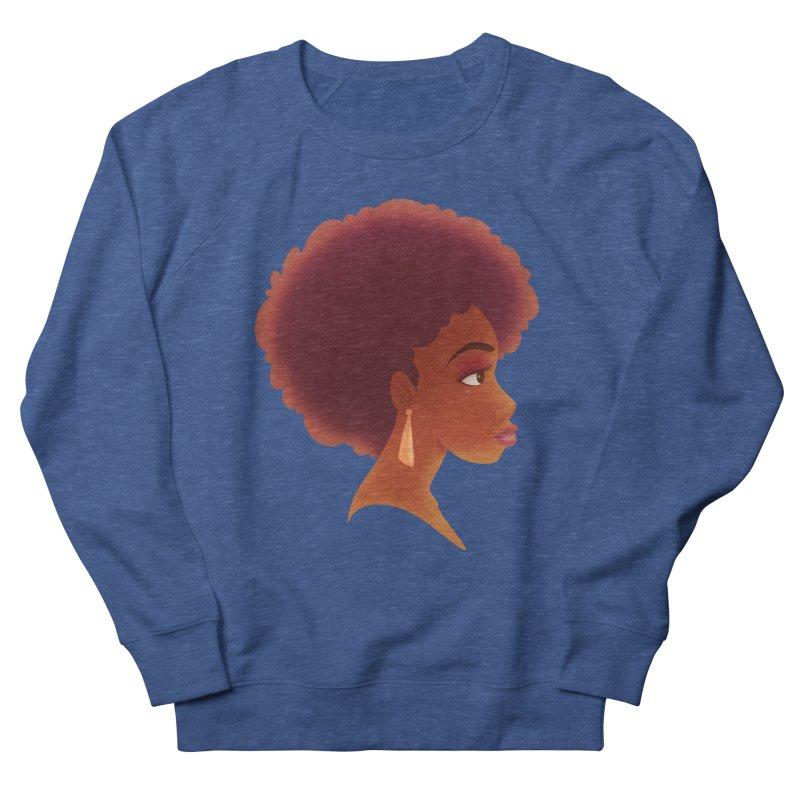 Woman in Profile Men's Sweatshirt by satruntwins's Artist Shop