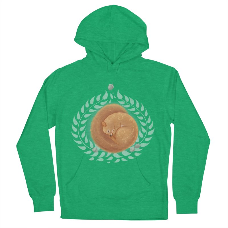 Sleeping Squirrel Women's Pullover Hoody by satruntwins's Artist Shop