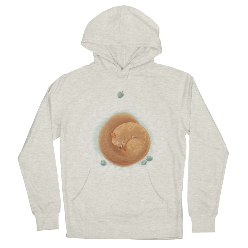 Sleeping Squirrel Men's Pullover Hoody by satruntwins's Artist Shop