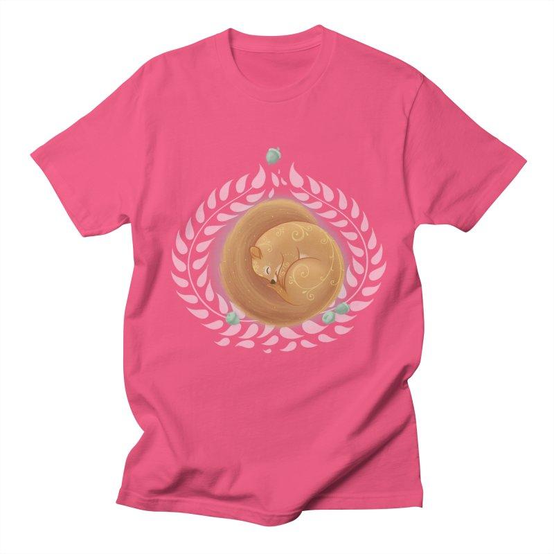 Sleeping Squirrel Women's Unisex T-Shirt by satruntwins's Artist Shop