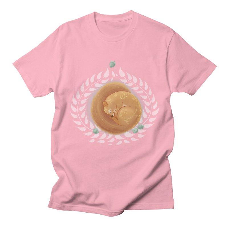Sleeping Squirrel Men's T-shirt by satruntwins's Artist Shop