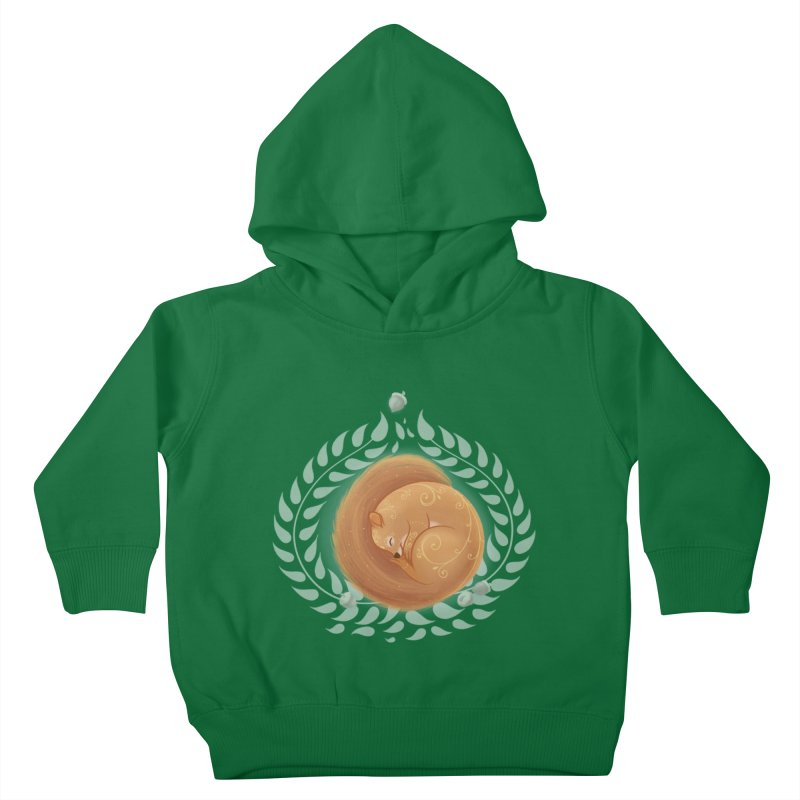Sleeping Squirrel Kids Toddler Pullover Hoody by satruntwins's Artist Shop