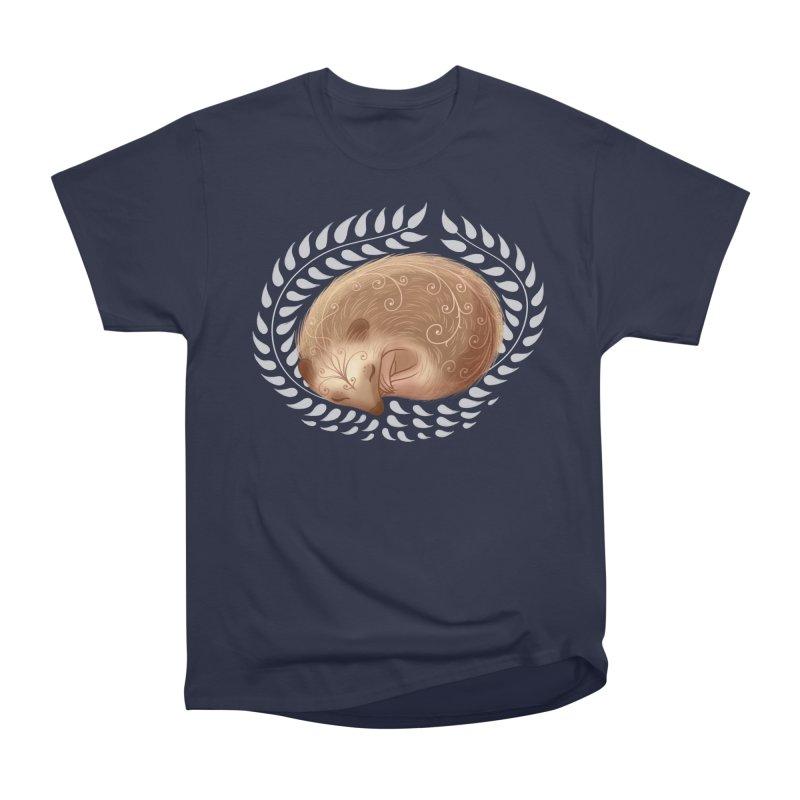 Sleeping Hedgehog Men's Classic T-Shirt by satruntwins's Artist Shop