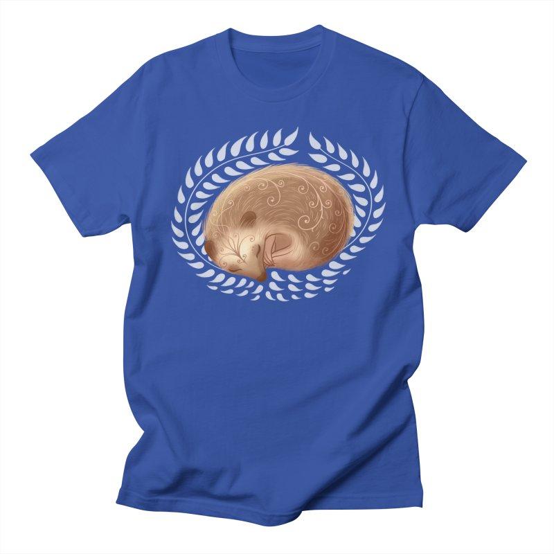 Sleeping Hedgehog Women's Unisex T-Shirt by satruntwins's Artist Shop