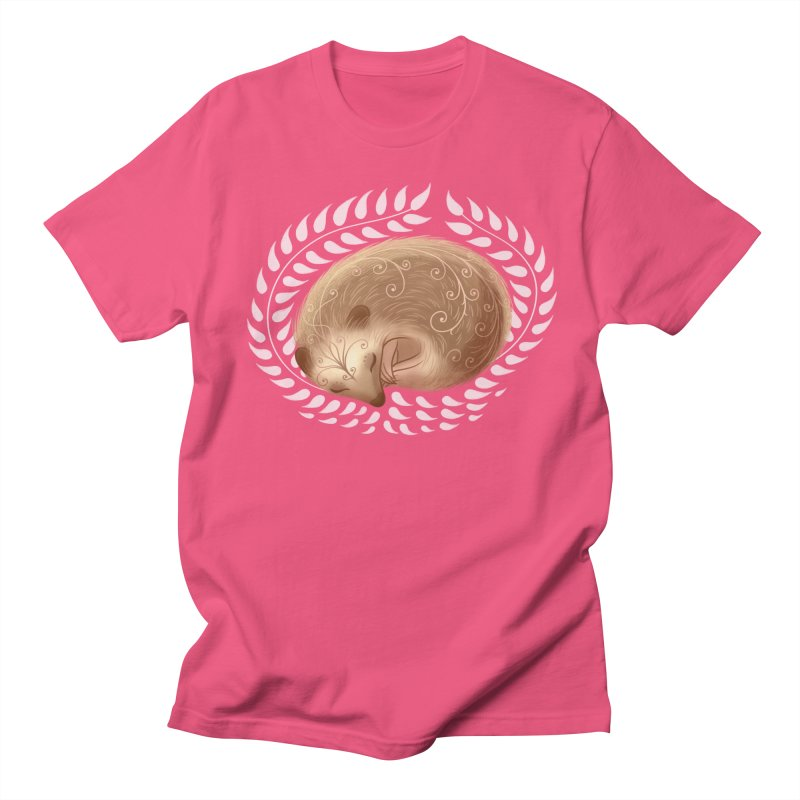 Sleeping Hedgehog Women's Unisex T-Shirt by satruntwins's Artist Shop