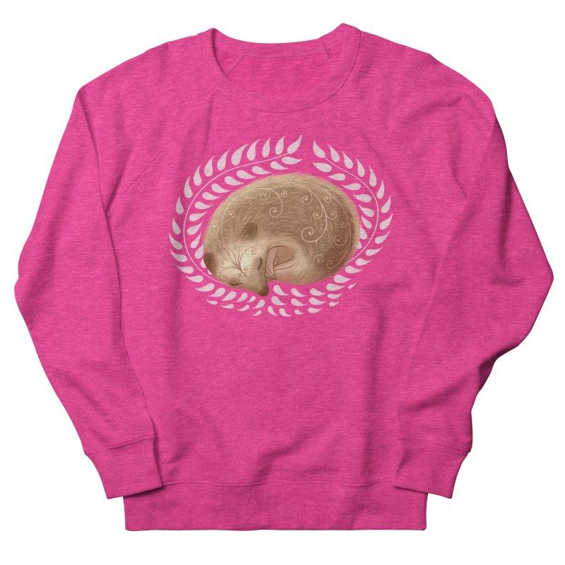 Sleeping Hedgehog Women's Sweatshirt by satruntwins's Artist Shop