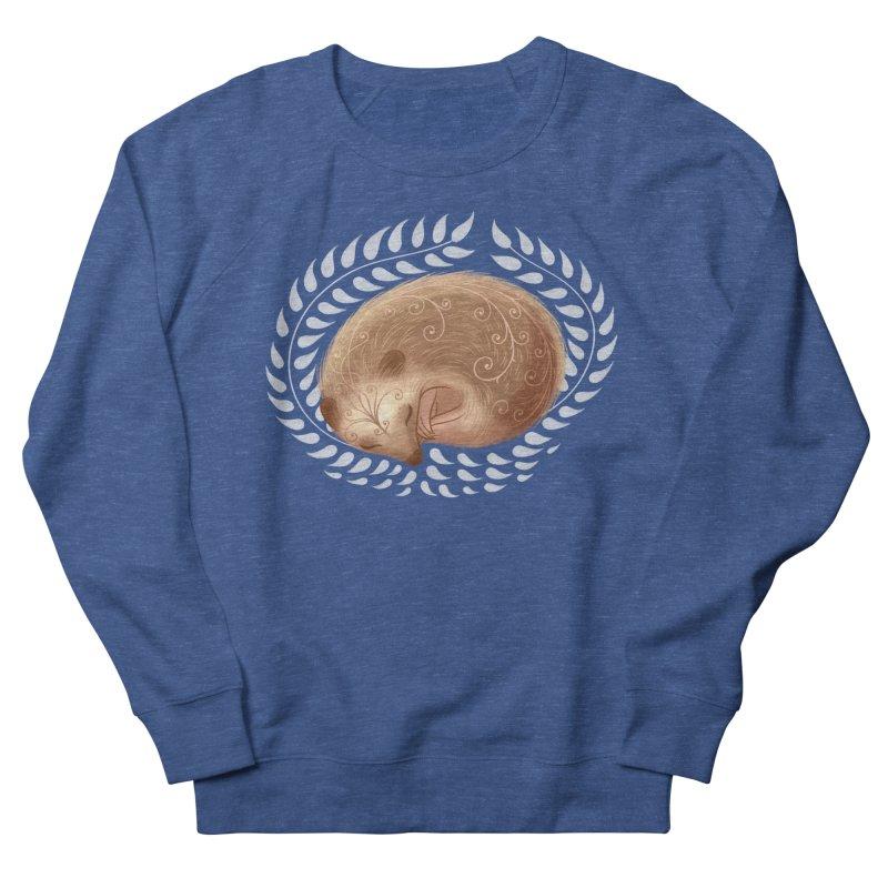 Sleeping Hedgehog Men's Sweatshirt by satruntwins's Artist Shop