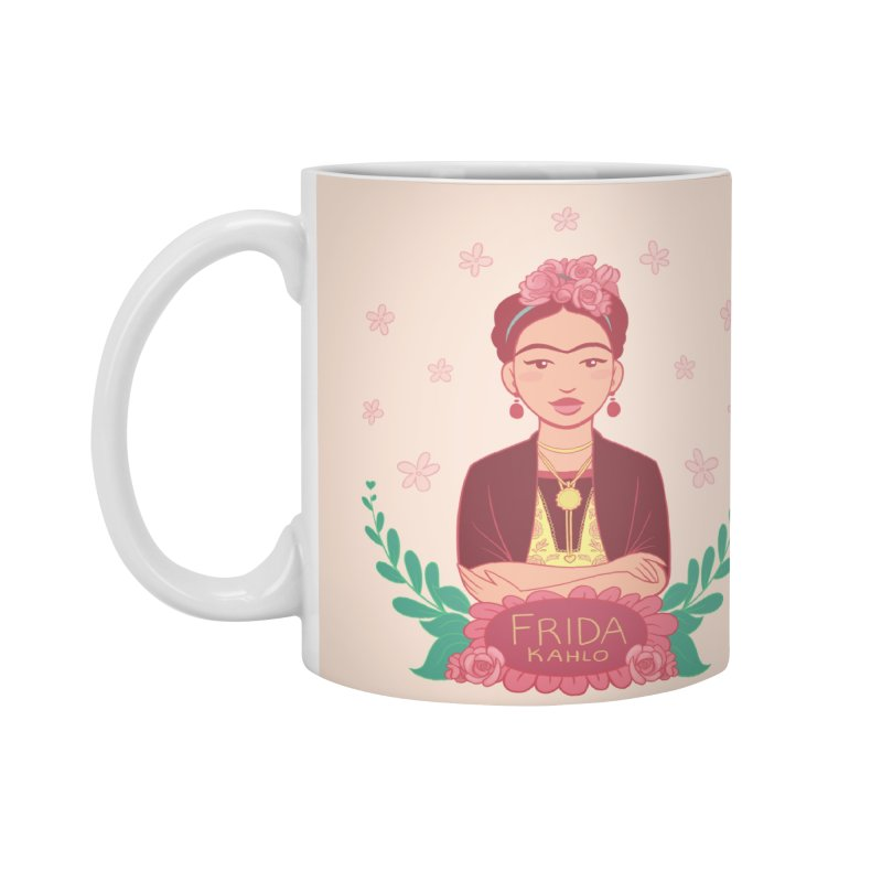 Frida Accessories Mug by satruntwins's Artist Shop